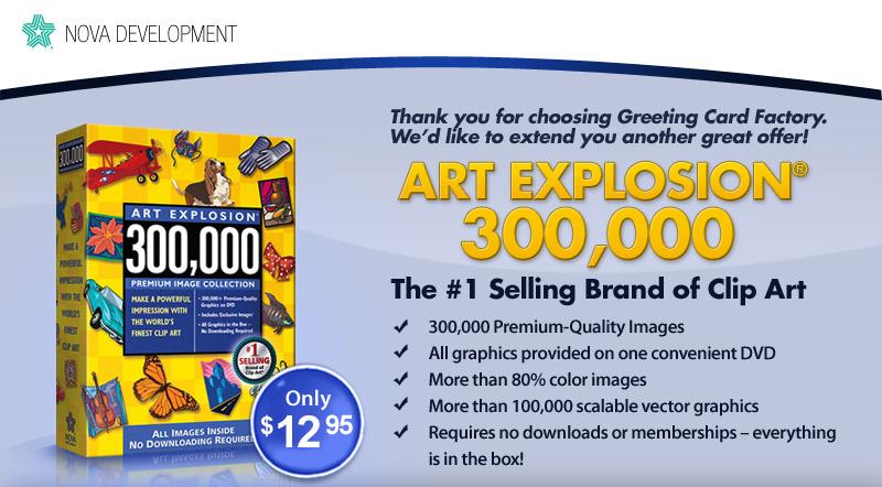 Nova greeting card factory image collections greeting card designs greeting card factory deluxe 8 upgrade nova upgrade m4hsunfo